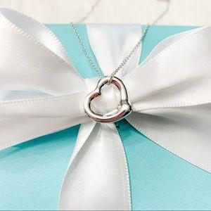 Tiffany & Co. Elsa Peretti Open Heart Pendant